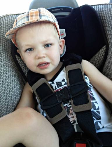 toddler car seat trouble